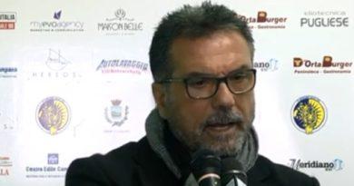 Il Campobasso esonera Bruno Mandragora