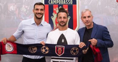 Vittorio Esposito – Campobasso. C'è la firma