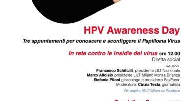 """HPV DAY: LILT CAMPOBASSO PARTNER DEL PROGETTO """"50 SFUMATURE DI PREVENZIONE"""""""